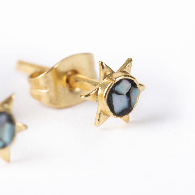 Mosaic stud earrings   Gallery 2   TradeAid