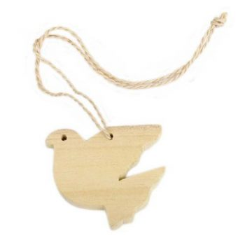 Wooden dove hanging | TradeAid