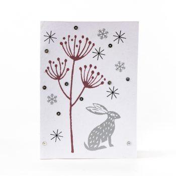 Winter woodland card | TradeAid