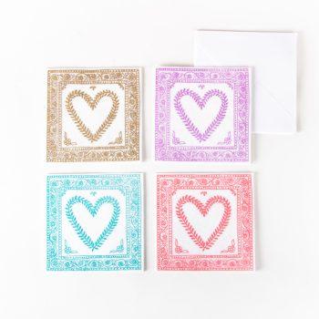 Ornate heart card | TradeAid