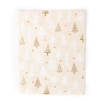 Christmas tree wrap with card | TradeAid