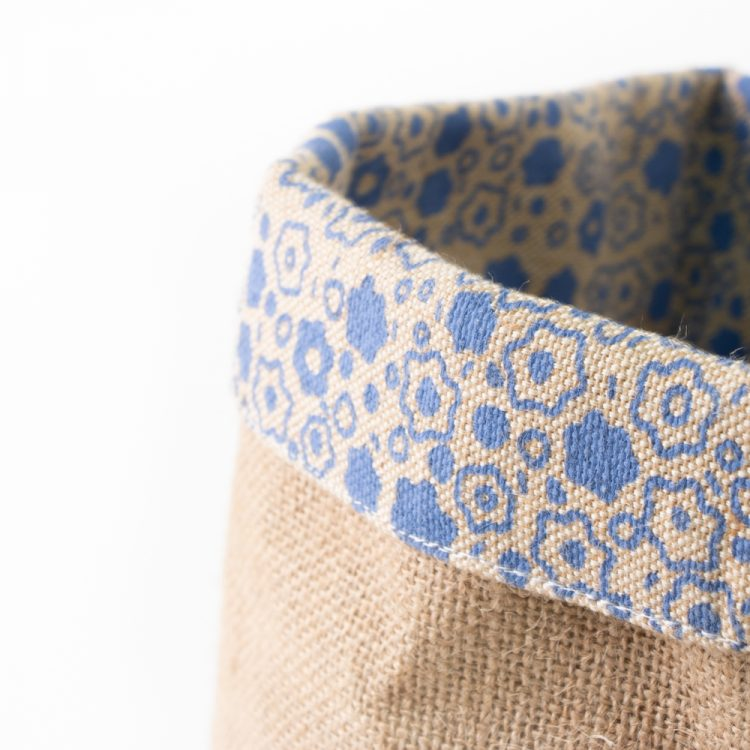 Floral jute basket small | Gallery 2 | TradeAid