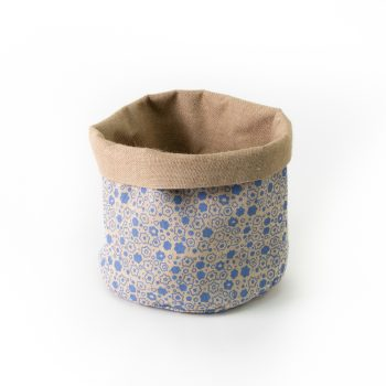 Floral jute basket large | TradeAid