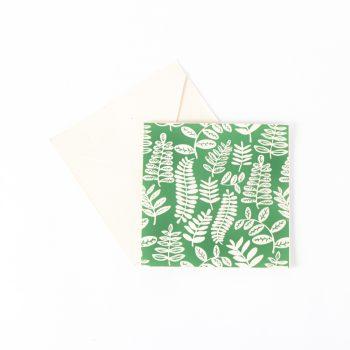 Fern print greeting card | TradeAid