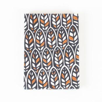 Earthy leaf notebook | TradeAid