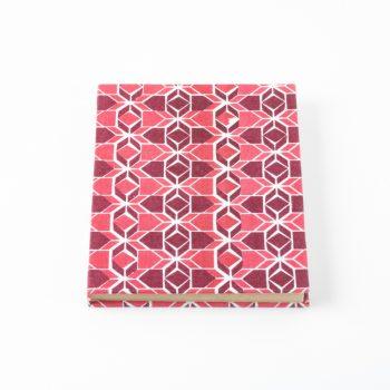 Geometric print notebook | TradeAid