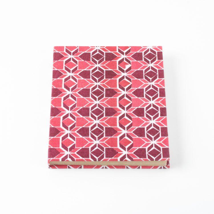Geometric print notebook   TradeAid