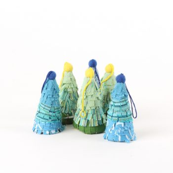 Recycled fabric christmas tree | TradeAid