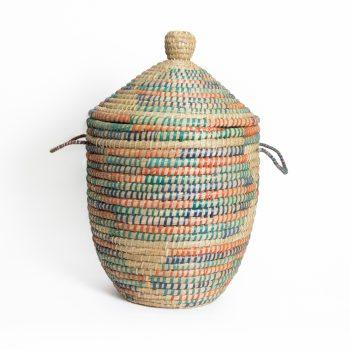 Vibrant kaisa laundry basket | TradeAid