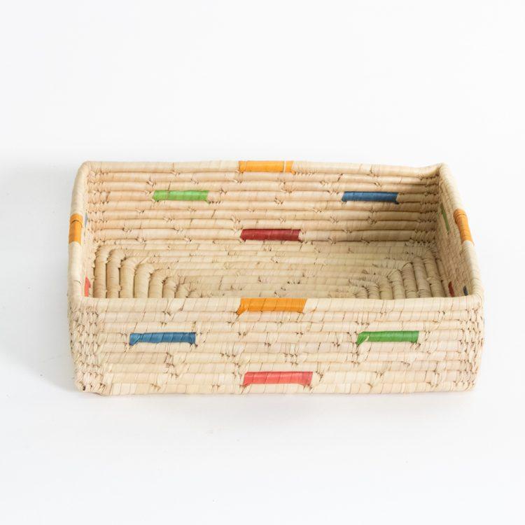 Date leaf rectangle tray | TradeAid
