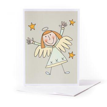 Happy angel card | TradeAid
