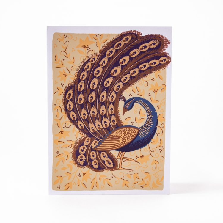 Peacock in the park card | Gallery 1 | TradeAid