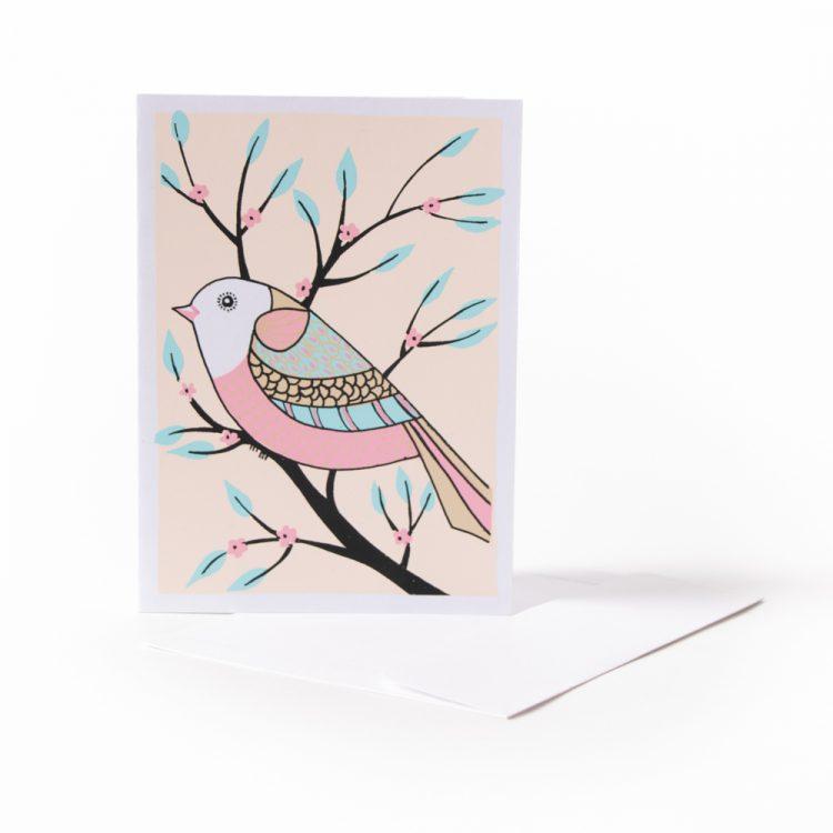 Pretty bird card | TradeAid