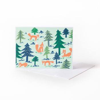 Festive fox card | TradeAid