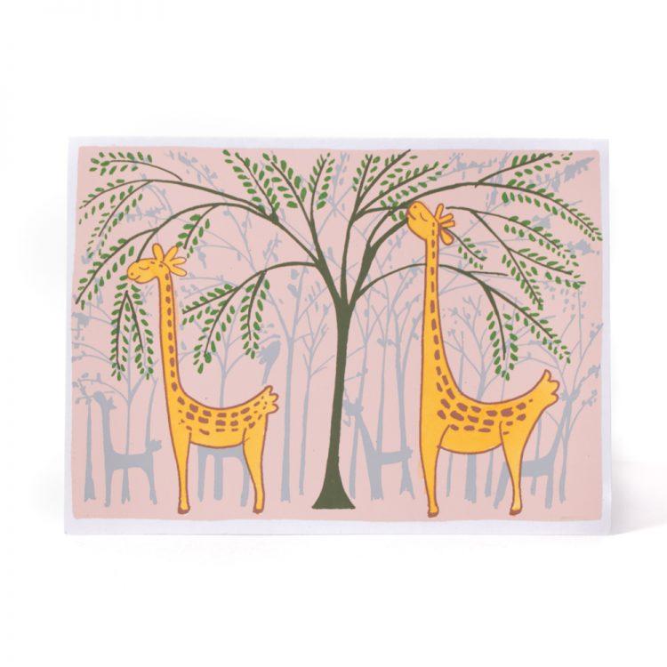 Hungry giraffe card | Gallery 1 | TradeAid