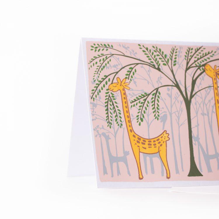 Hungry giraffe card | Gallery 2 | TradeAid