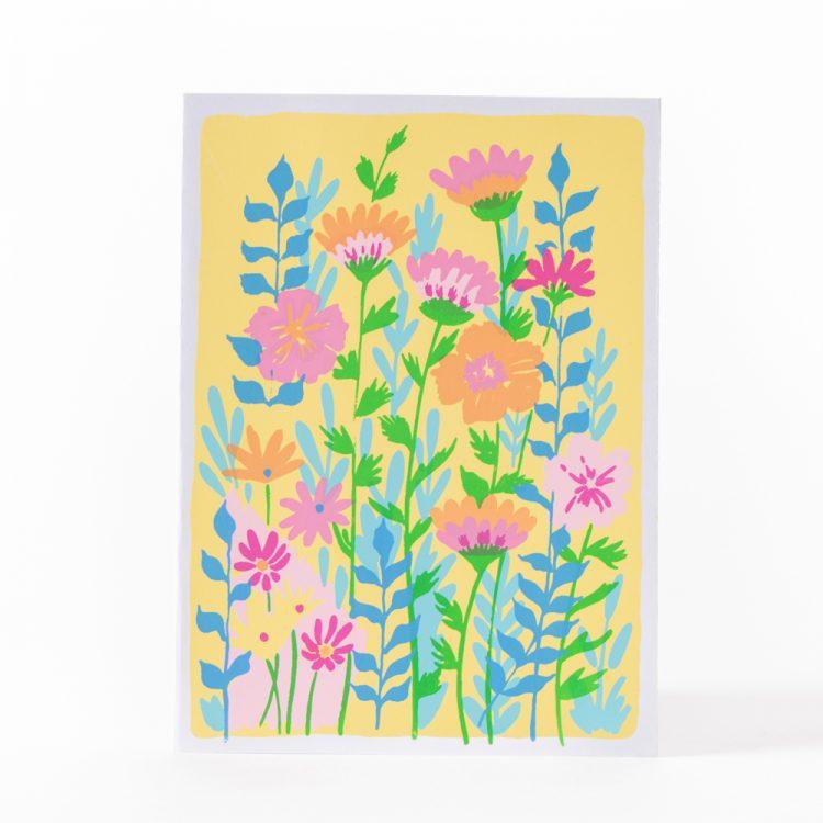 Vibrant flower card | Gallery 1 | TradeAid