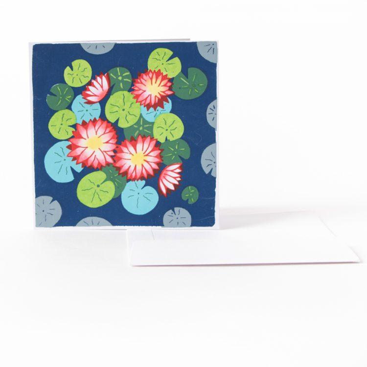 Lotus pond card | TradeAid