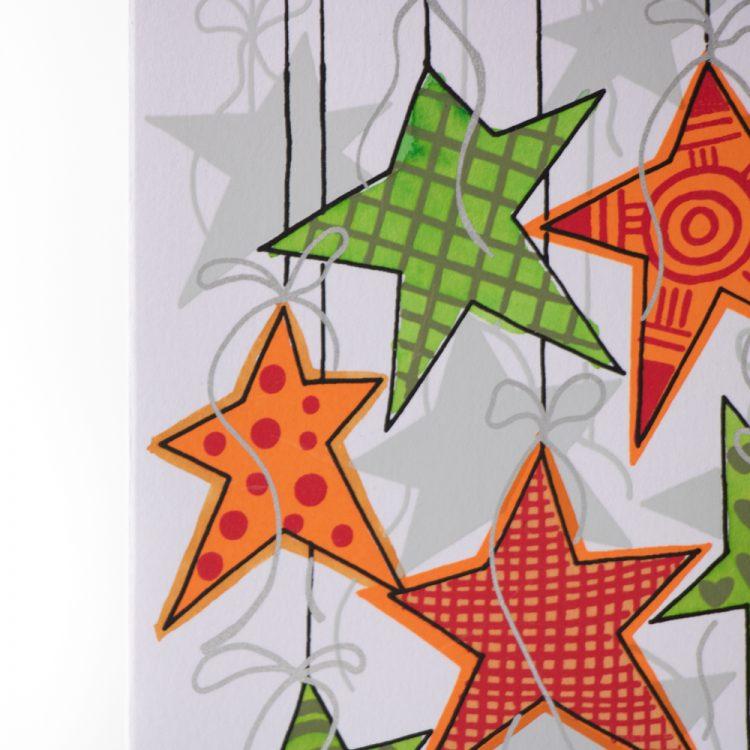 Star decoration card | Gallery 2 | TradeAid