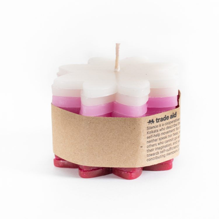 Flower stacker candle | TradeAid