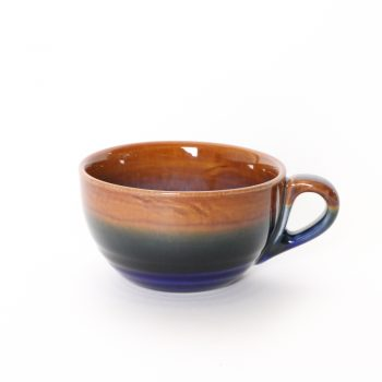 Rust brown latte cup | TradeAid