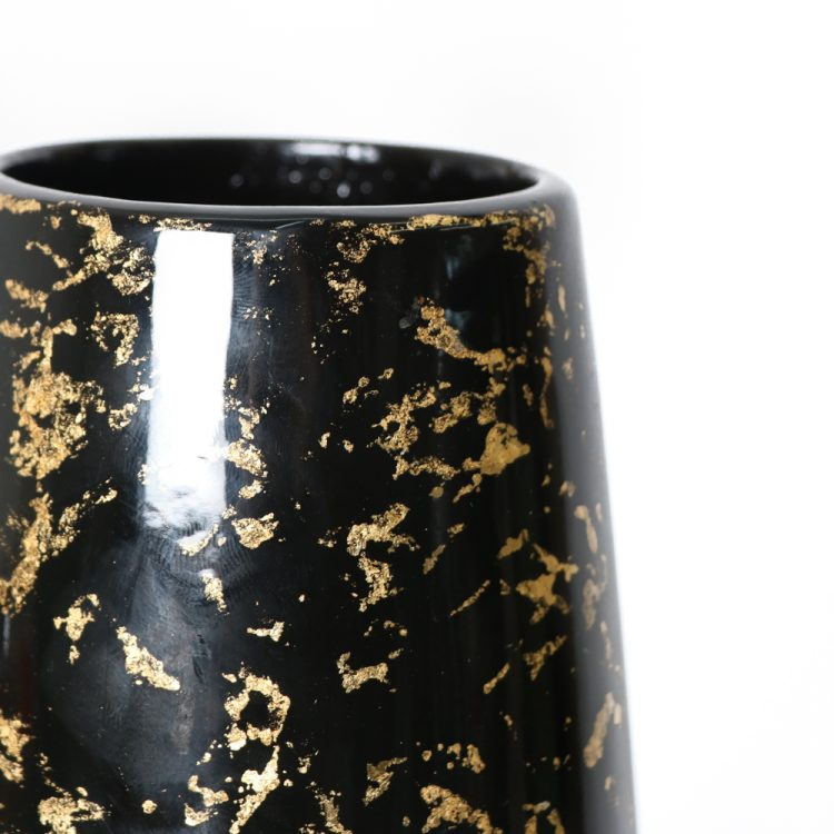 Black and gold lacquer vase   Gallery 2   TradeAid