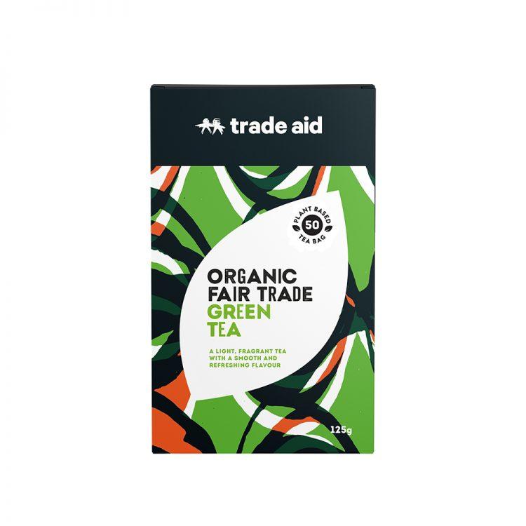 Green tea – 50 tea bags   TradeAid