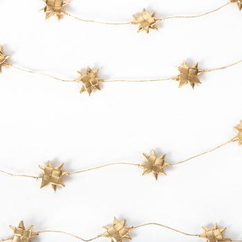 Gold star garland | TradeAid