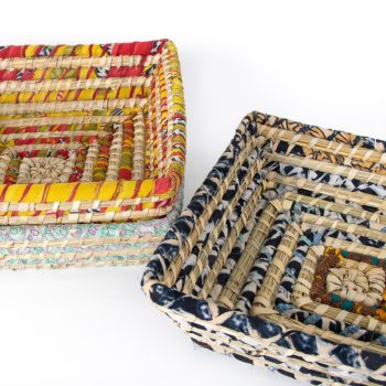 Colourful square basket | Gallery 2 | TradeAid