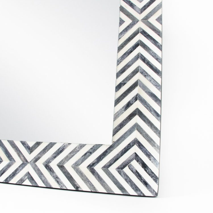 Black and white resin mirror   Gallery 2   TradeAid