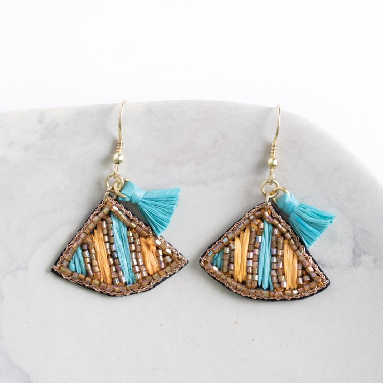 Shades of the desert earrings | TradeAid