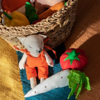 Vegetable toys in bag | TradeAid