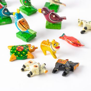 Assorted wooden charms (set of 12) | TradeAid