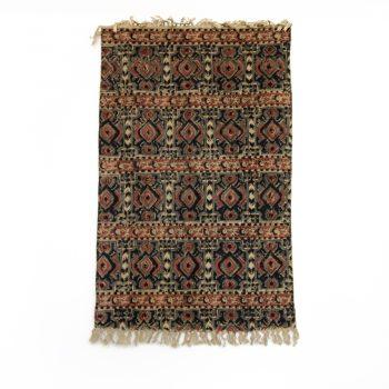 Abstract kalamkari rug   Gallery 1   TradeAid