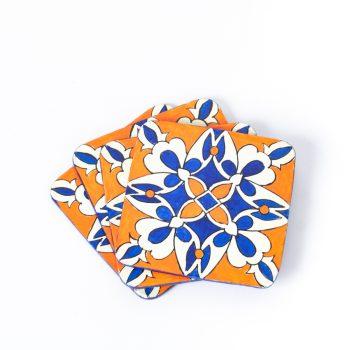 Paper mache coaster | TradeAid