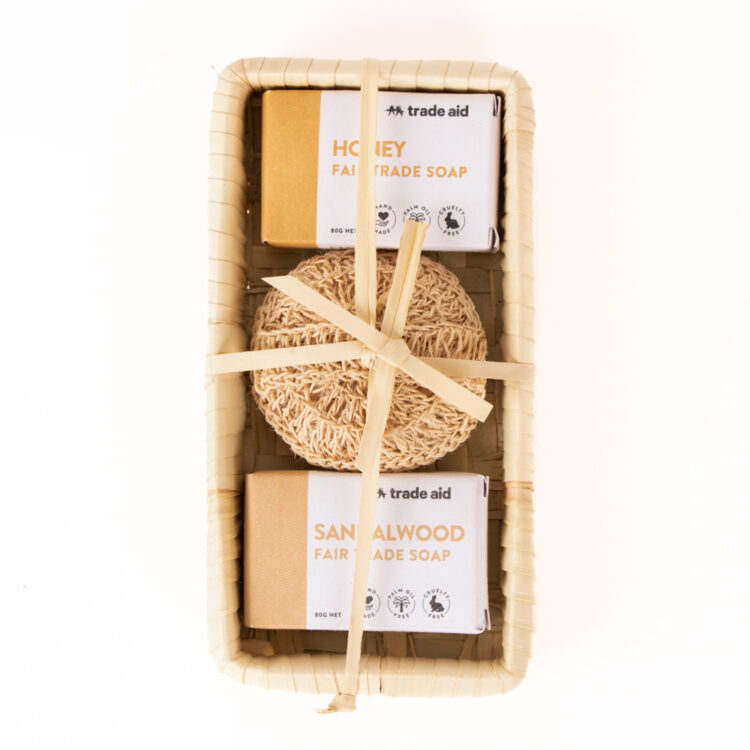 Soap and body scrub gift pack | TradeAid