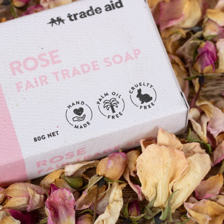 Rose soap | Gallery 1 | TradeAid
