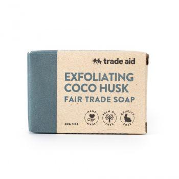 Exfoliating coco husk soap | TradeAid