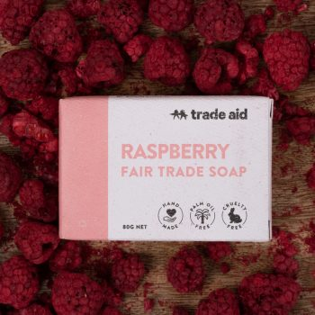 Raspberry soap | TradeAid