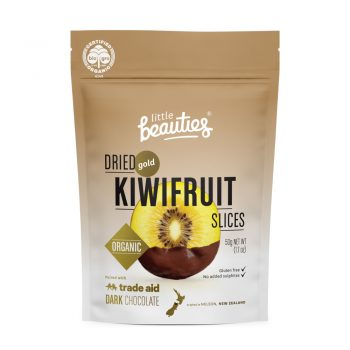 Organic gold kiwifruit slices | TradeAid