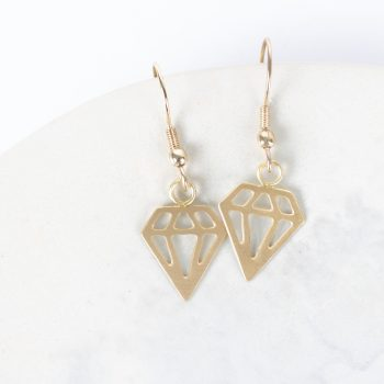 Diamonds earrings | TradeAid