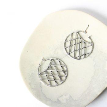 Lattice boat earrings | TradeAid