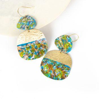 Patina drop earrings | Gallery 1 | TradeAid