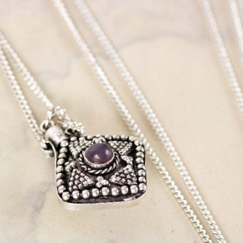 Perfume bottle necklace | TradeAid