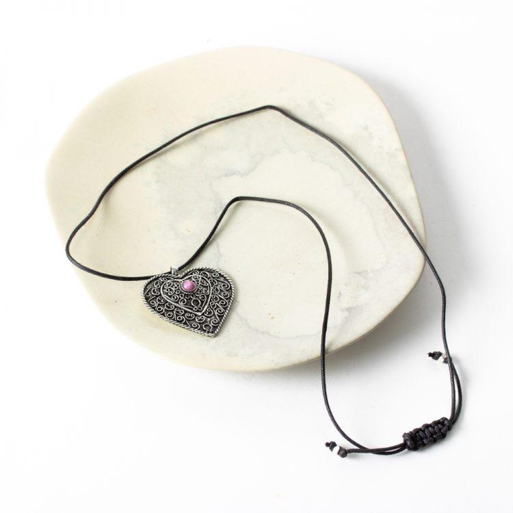 Heart necklace | Gallery 2 | TradeAid