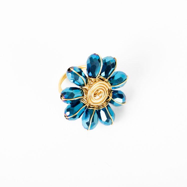 Peacock bead ring | Gallery 1 | TradeAid