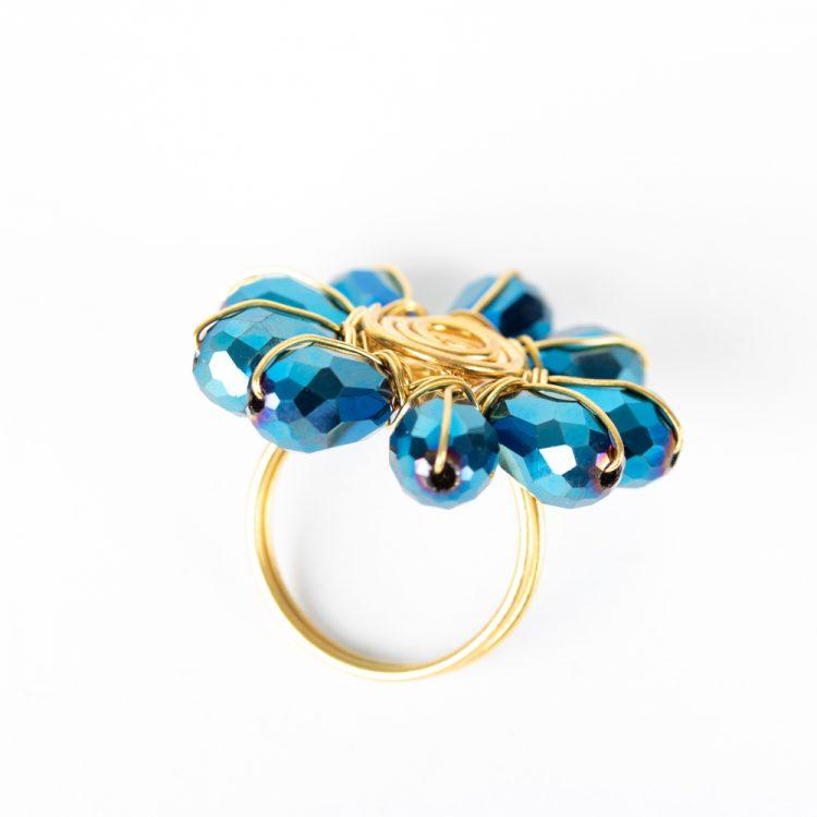 Peacock bead ring | Gallery 2 | TradeAid