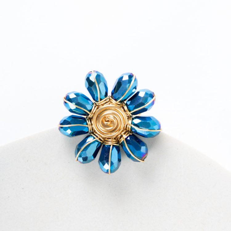 Peacock bead ring | TradeAid