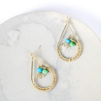 Teardrop earrings | TradeAid