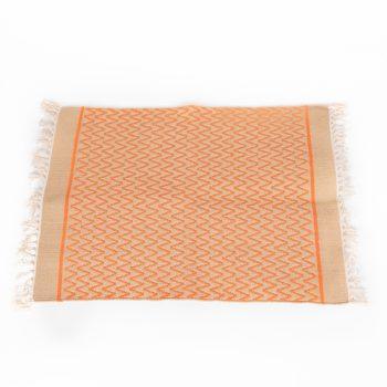 Orange zigzag rug   Gallery 1   TradeAid